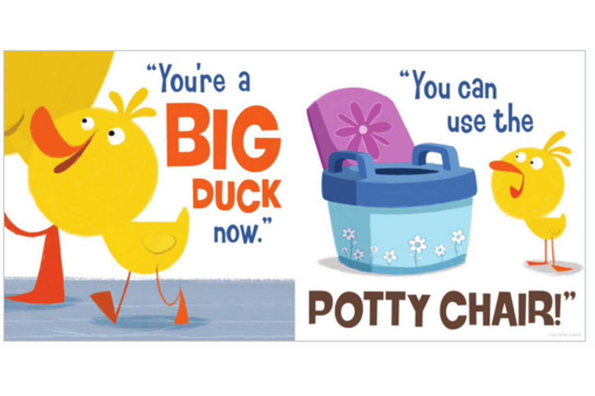 Hello Genius Duck Goes Potty Educational Books For Kids