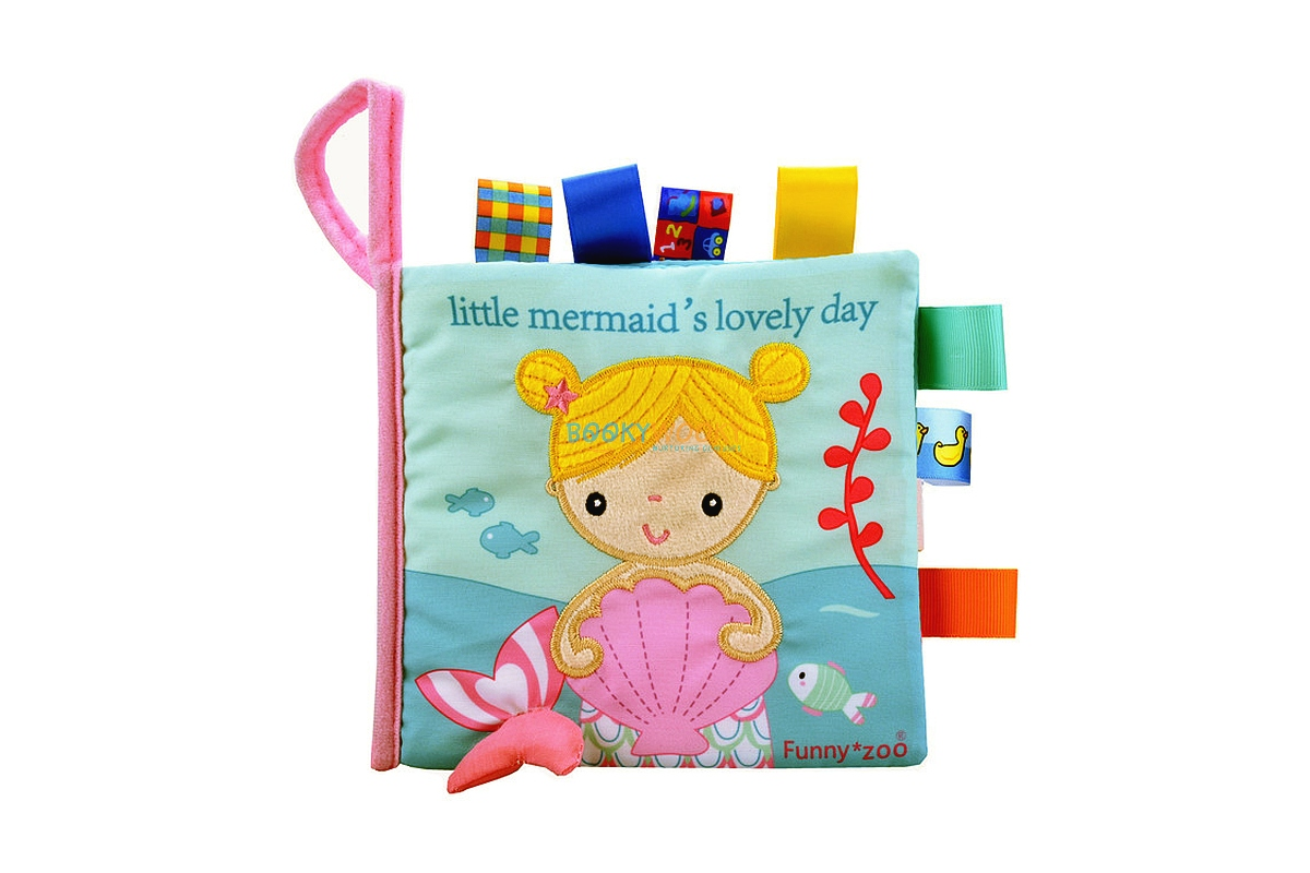 Little Mermaid S Lovely Day Cloth Book Cloth Books For