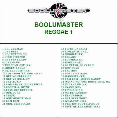 reggae 1 2nd playlist