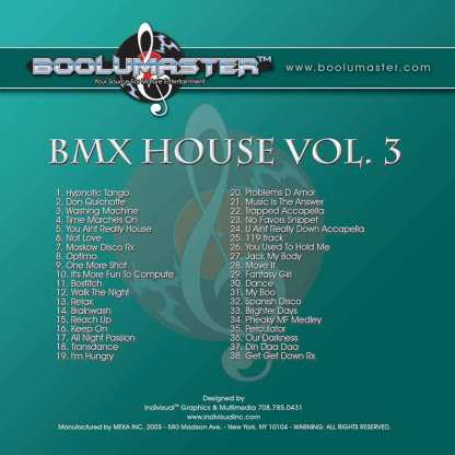bmx house 3 playlist