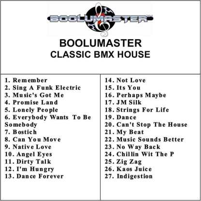 Classic BMW House playlist
