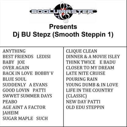 Dj Bu Stepz Smooth 1 playlist