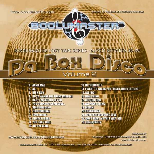 da box disco v2 cover