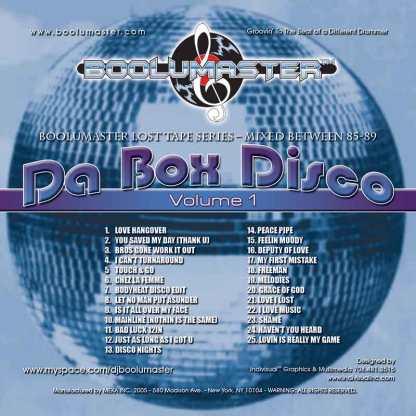 da box disco v1 cover