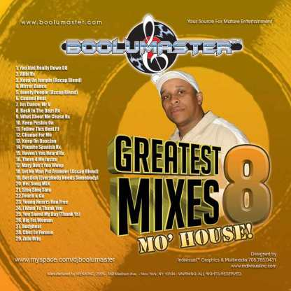 greatest mixes v8 cover