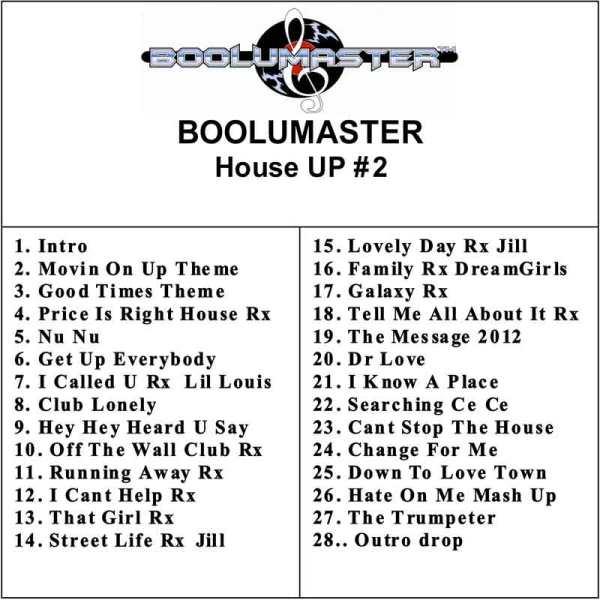 House Up 2 playlist