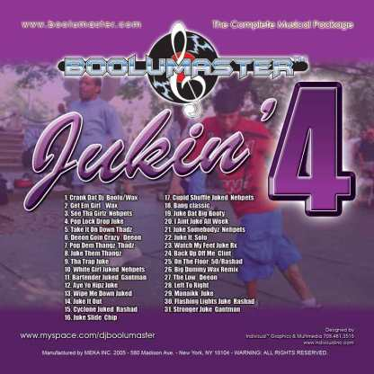 jukin 4 cover