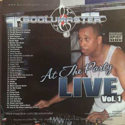 at the party live 1 cover