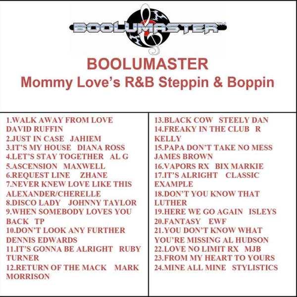 Mommy Loves R&B Steppin Boppin v1 playlist