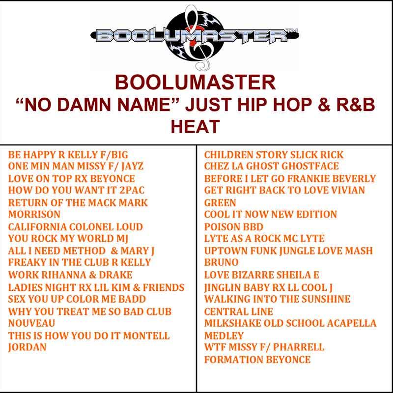 No Damn Name Just Hip Hop & RnB Heat