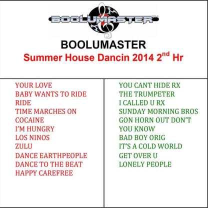 summer house dancing 2 playlist
