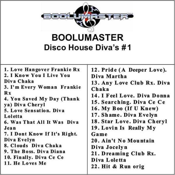 disco House Divas playlist