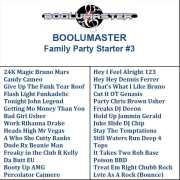 Family Party Starter V3 Playlist