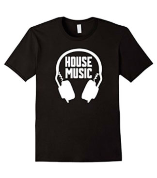 Black House Music Tee