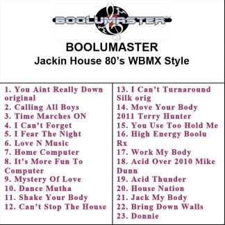 Jackin House 80s WBMX playlist