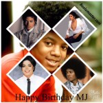 Happy Birthday Michael jackson 2017