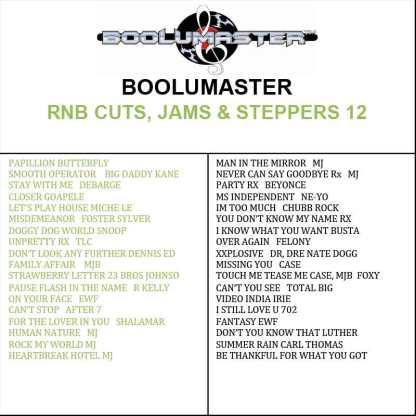 rnb cuts 12 playlist