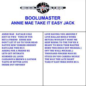 Annie Mae Take It Easy Playlist