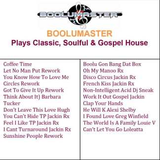 classic Soulful Gospel House image