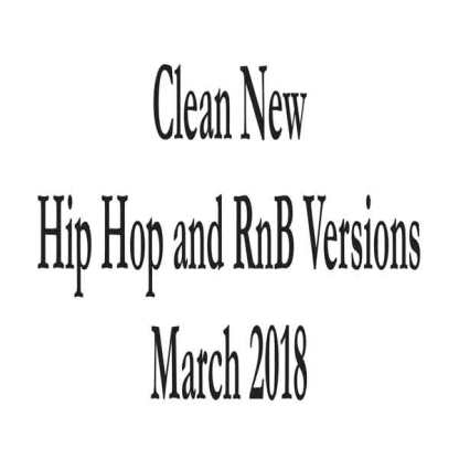 Clean March 2018 list