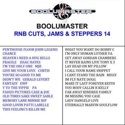 Rnb Cuts 14 Playlist