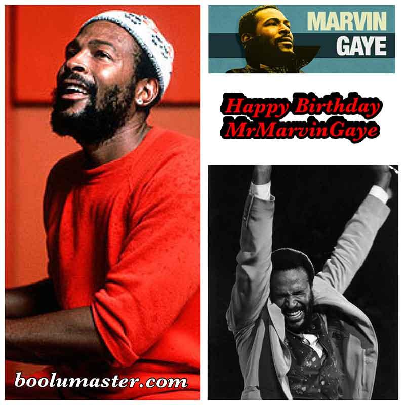 Happy Birthday Marvin Gaye Tribute Mix