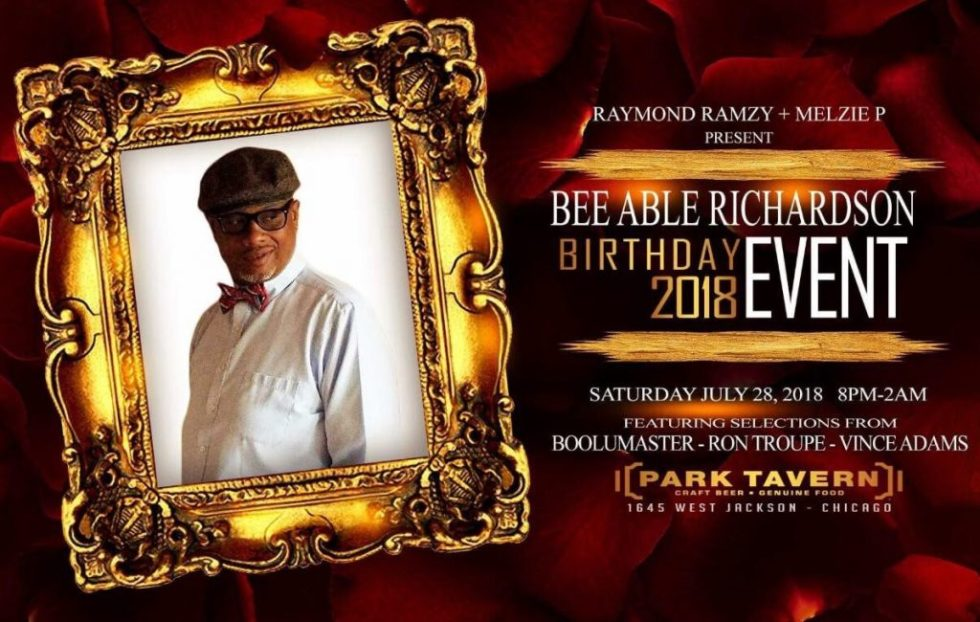Bee Park Tavern Flyer