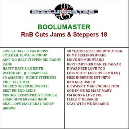 rnb cuts 18 playlist