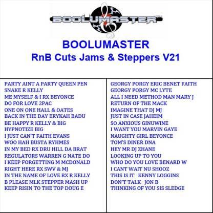 Rnb Cuts 21 playlist