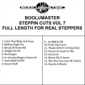 Steppin Cuts 7 playlist