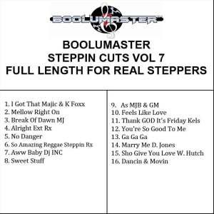 Steppin Cuts 7 playlist