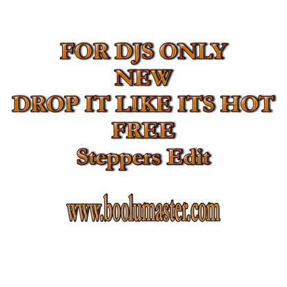Drop It Hot Free Edit