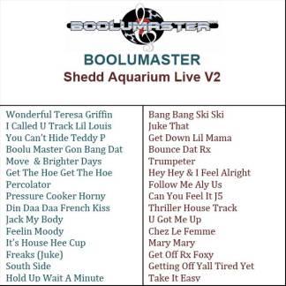 Shedd V2 playlist