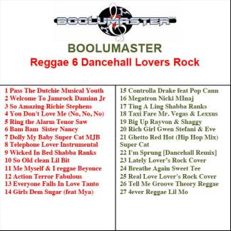 Reggae 6 playlist