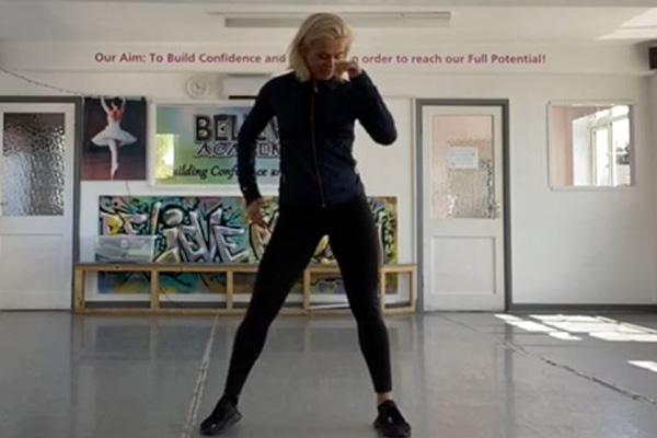 Emily Barker Salsa Class