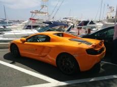 McLaren in Peurto Banus