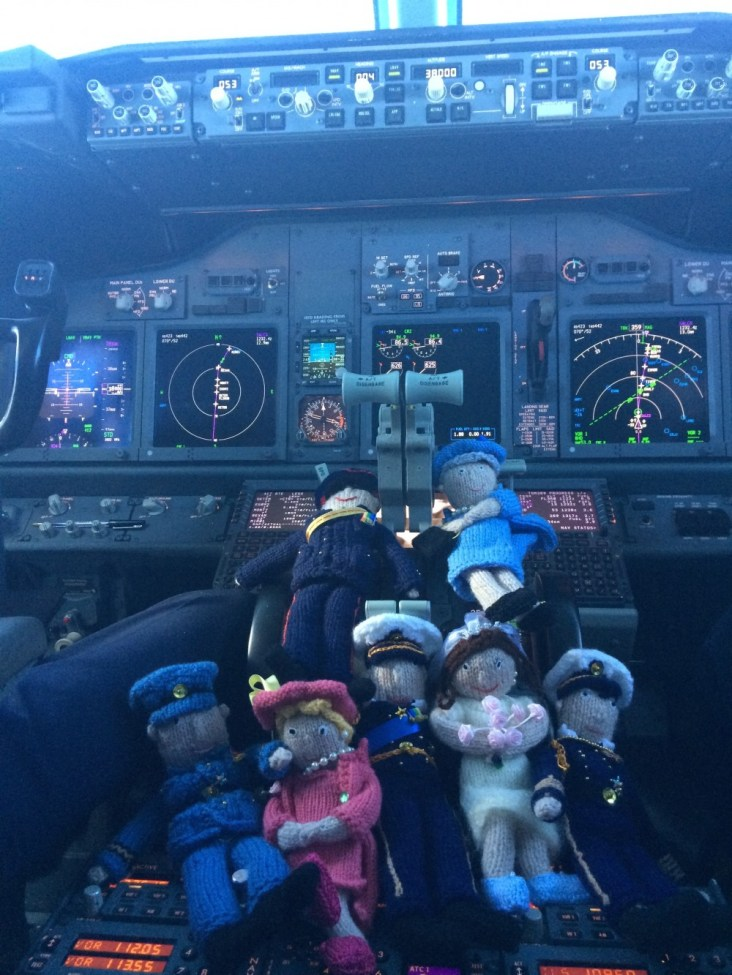 Royals in the Cockpit