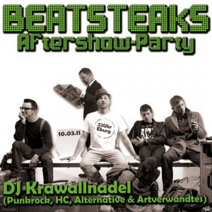 Flyer Beatsteaks-Aftershow 2011