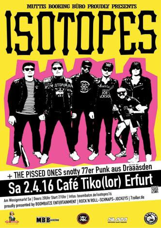 Isotopes-Poster | 2.4.16 Tiko Erfurt