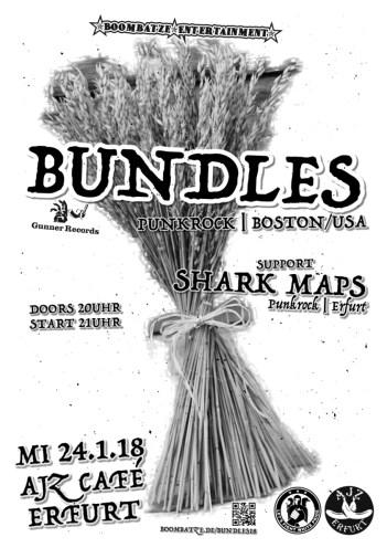 Bundles | 24.1.18 AJZ Café Erfurt | A3 Poster