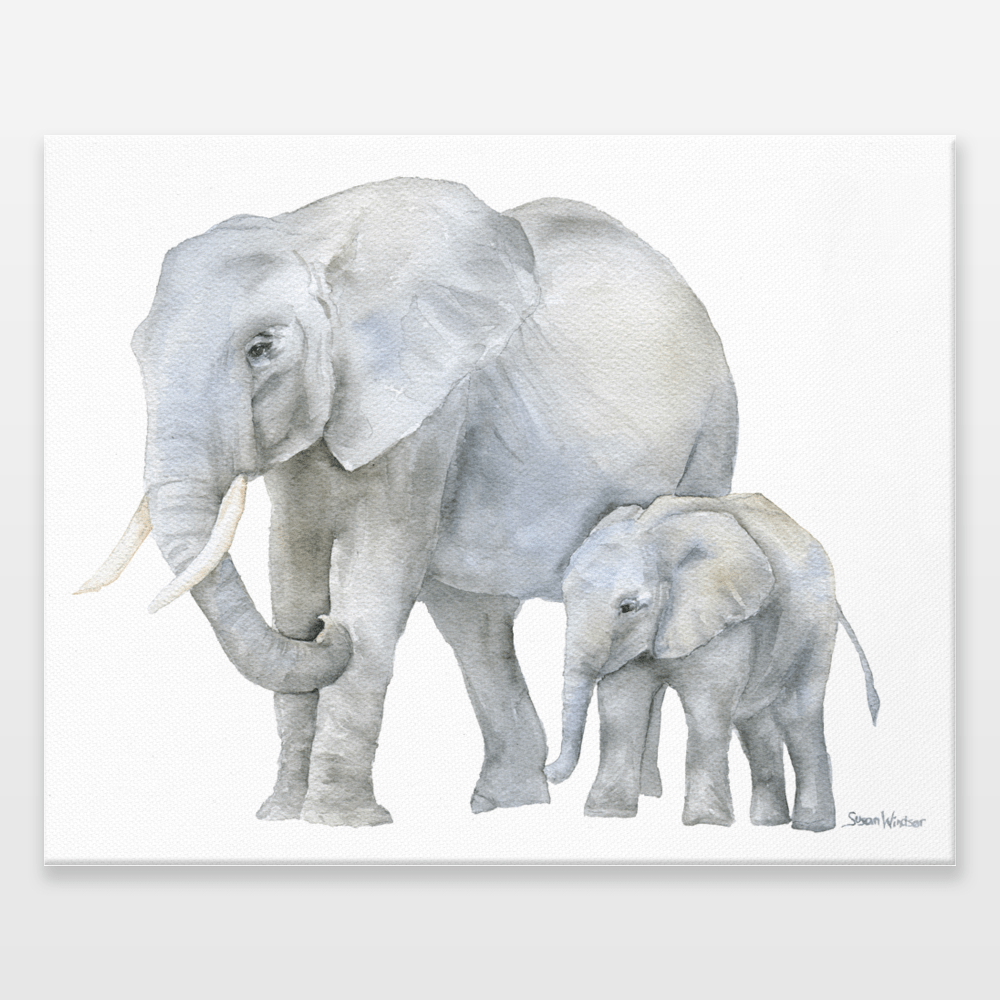 Elephant Baby Shower Napkins
