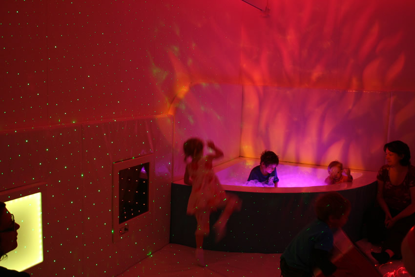 Sensory Room Boomerang Centre Bury