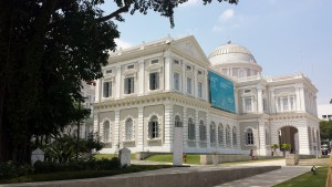 The National Museum of Singapore built in when Singapore was still a British colony.