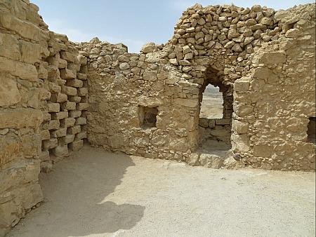 The Dovecote at Masada, Israel