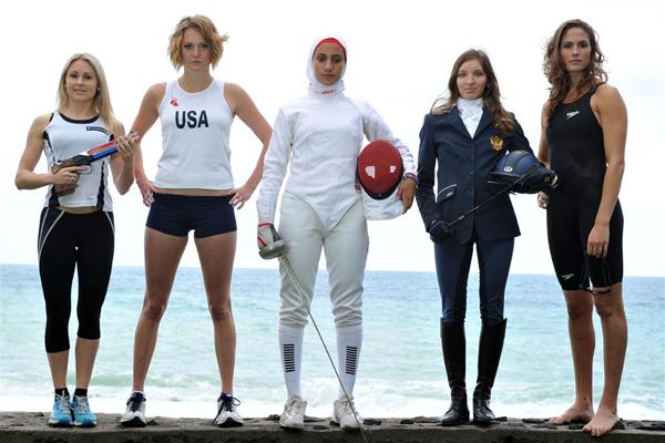 Modern Pentathletes (image courtesy teamusa.org)