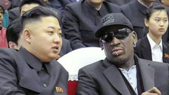 RODMAN AT LARGE IN NORTH KOREA. GO DENNIS GO (image courtesy www.foxnews.com)