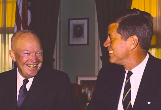Eisenhower-and-JFK