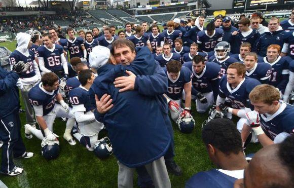 Lake Oswego football coach Steve Coury. via portlandtribune.com