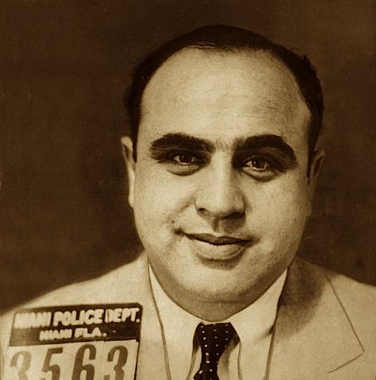Young Al Capone At 25