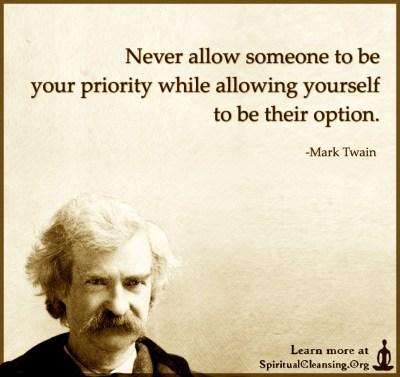 love priority